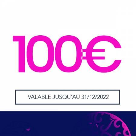 E-CARTE CADEAU - VALEUR 100€